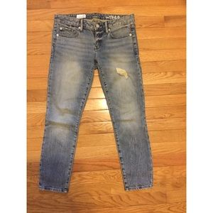 GAP 1969 Destructed Always Skinny Jeans Size 26S